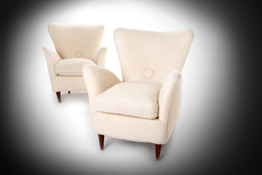 Pair of Mid 20th century Milan armchairs c. 1960