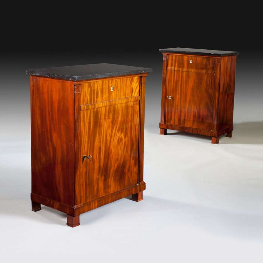 A pair of early 19th century Empire cabinets