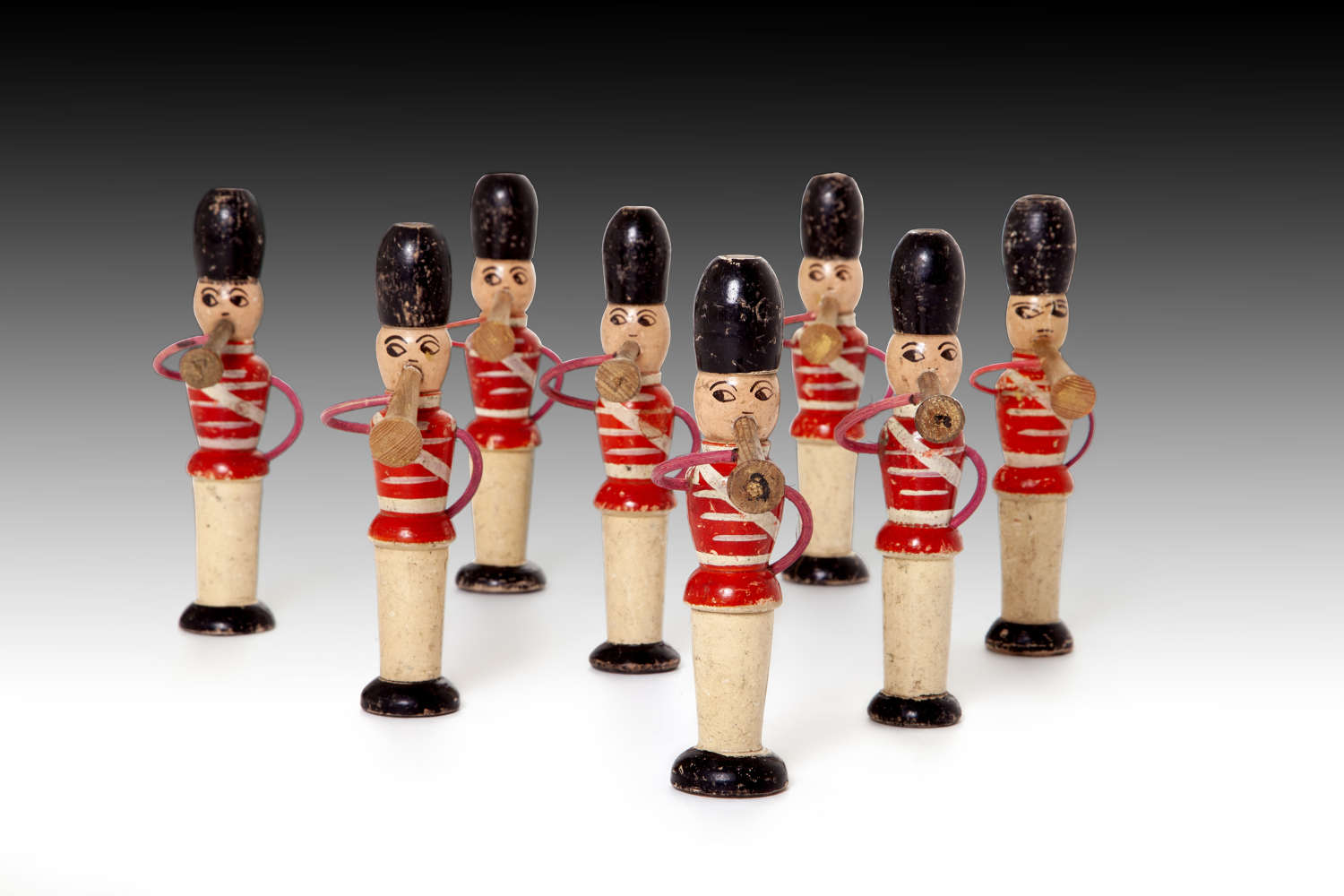 Musical toy soldiers